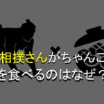 なぜお相撲さんはちゃんこ鍋を食べるのか?納得のいく4つの理由